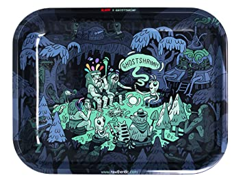 Amazon Com Raw Rolling Papers Metal Rolling Tray Ghost Shrimp