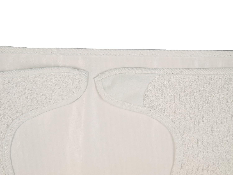 Babero adulto de rizo con forro de plástico, lote de 3, cierre velcro: Amazon.es: Hogar
