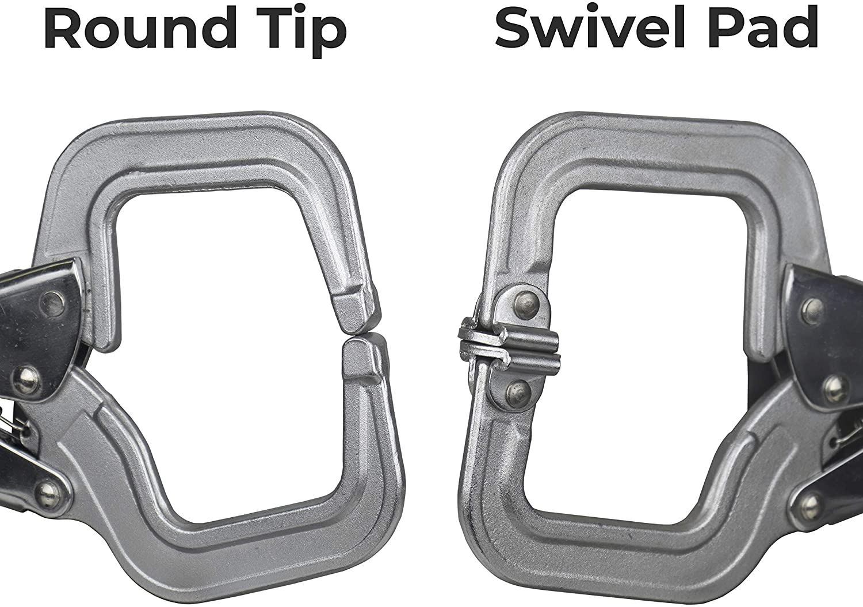 Herramientas de mano fuerte pr115/bloqueo c-clamps con punta redonda 11/pulgadas