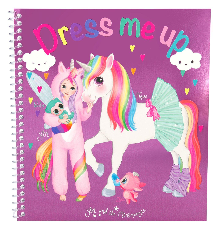 Depesche 8552/Livre /à colorier Stickers Fun Dress Me Up ylvi et Les minimoomis