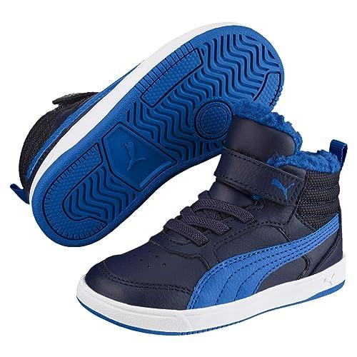 PUMA Unisex Kinder Rebound Street V2 Fur V Ps Hohe Sneaker