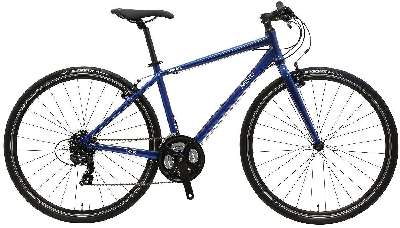 700times;32C 評判 480mm クロスバイク 超目玉 VACANZE1 NE-18-005 外装21段 B07DLV8VMDブルー バカンゼ1
