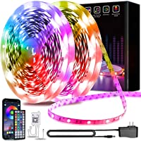 130ft Led Light Strips Keepsmile APP Control Music Sync Color Changing Led Strip Lights with Remote Led Lights for…