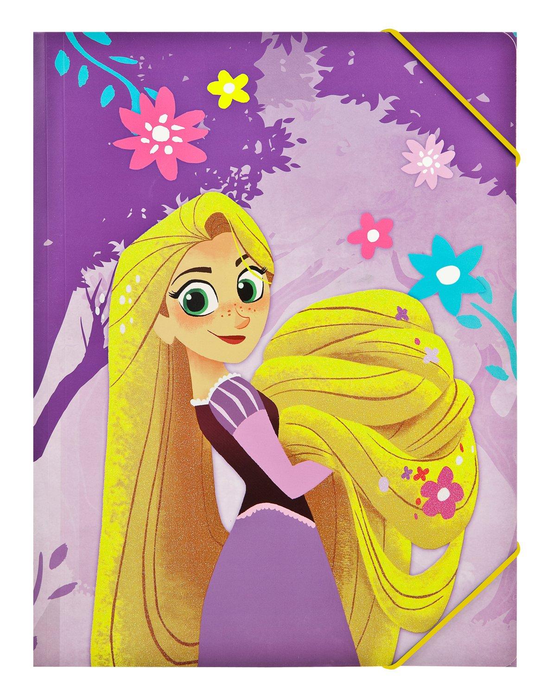 Undercover ravt0300 A4 –  Carpeta con goma, DISNEY Rapunzel