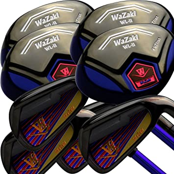Japan WaZaki Black Finish WL-IIs 4-SW Combo Hybrid Irons ...