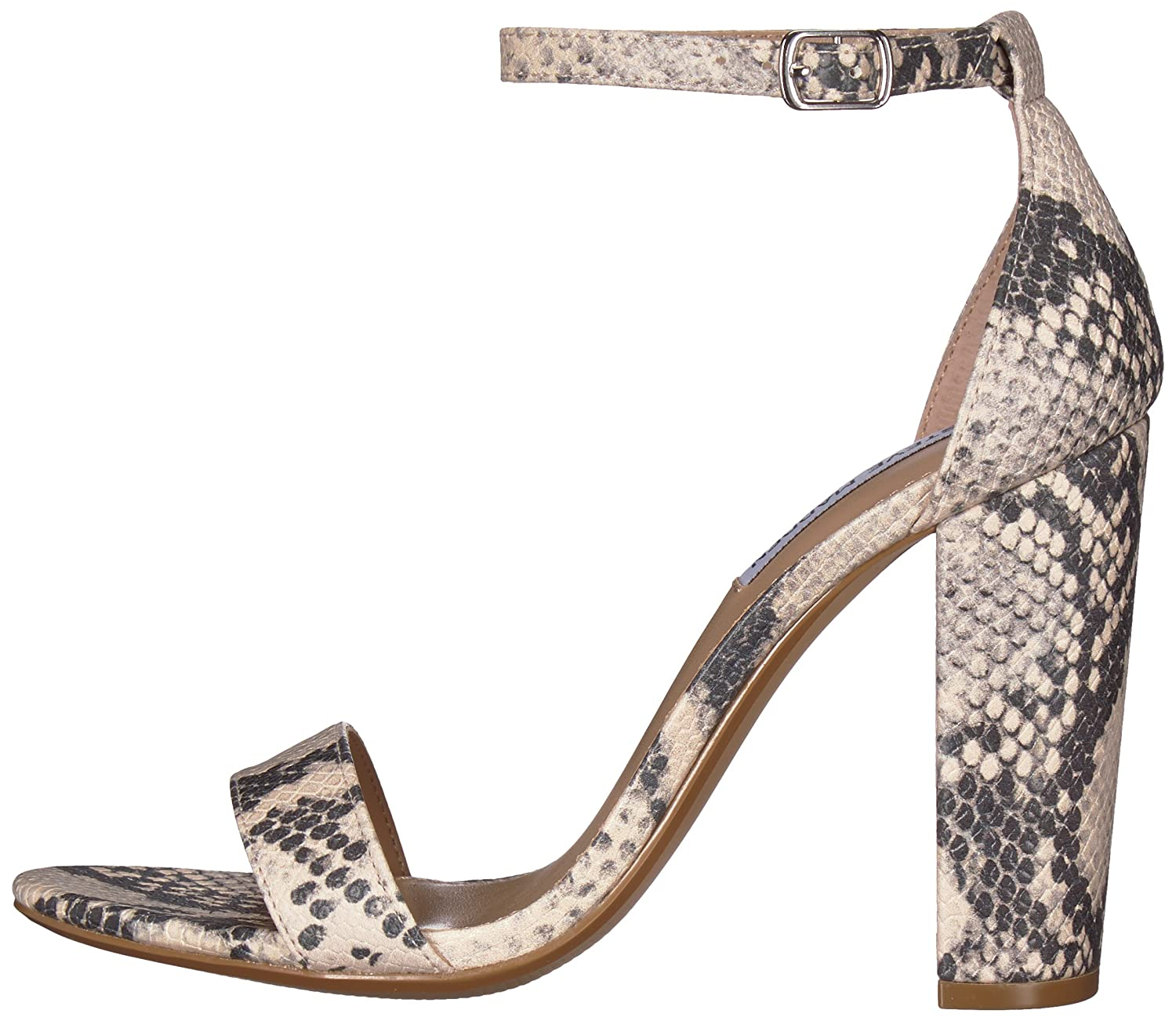 Steve Madden Women's 8.5 Carrson Dress Sandal B077F6WSJS 8.5 Women's B(M) US|Snake cec7ff