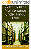 Alimony and Maintenance under Hindu Law