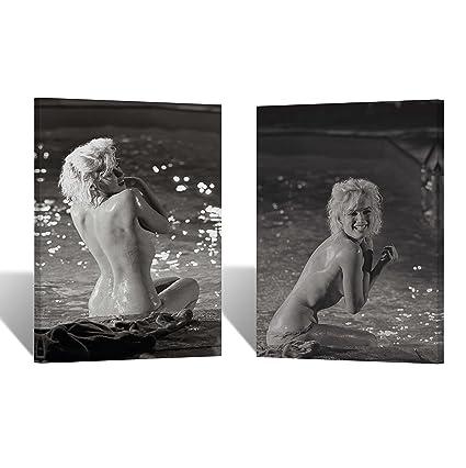 Naked females in fontana