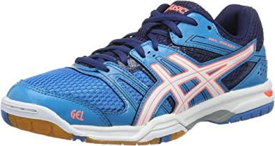 Decepcionado Agente de mudanzas Caballo  Asics Gel-rocket 7, Women's Volleyball, Blue (Blue Jewel/white/flash  Coral), 4.5 UK (37.5 EU): Amazon.co.uk: Shoes & Bags
