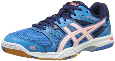 size 40 8f897 bd63b ASICS Gel-Rocket 7, Chaussures de Tennis Femme, Bleu (Blue Jewel