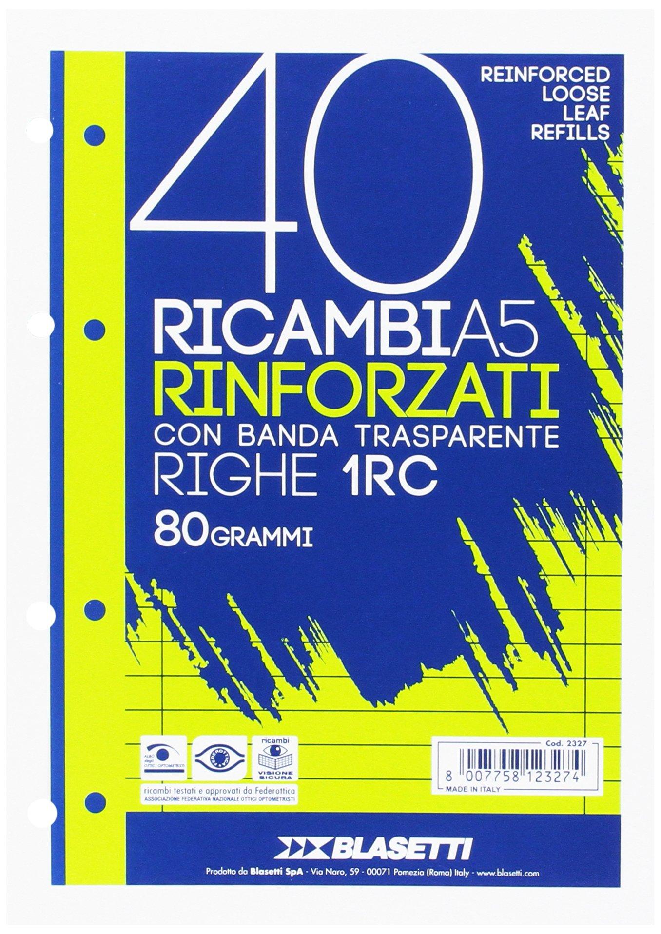 RICAMBI A5 RIGHE 1RC 40FF