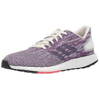 adidas Women's Pureboost DPR Running Shoes, Cloud White/raw Indigo/Shock red, 8.5 M US