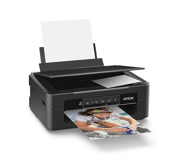 Drucken, Scannen, Kopieren, 5.760 x 1.440 dpi, USB, Wi-Fi Epson Expression Home XP-235 Tintenstrahl Multifunktionsdrucker schwarz