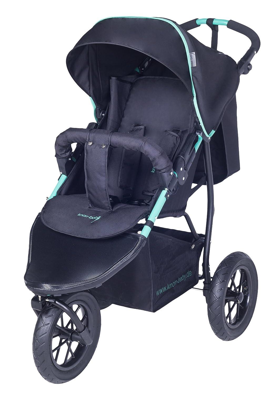 con tres ruedas y capota azul azul Carrito para ni/ños de la marca Knorr-Baby