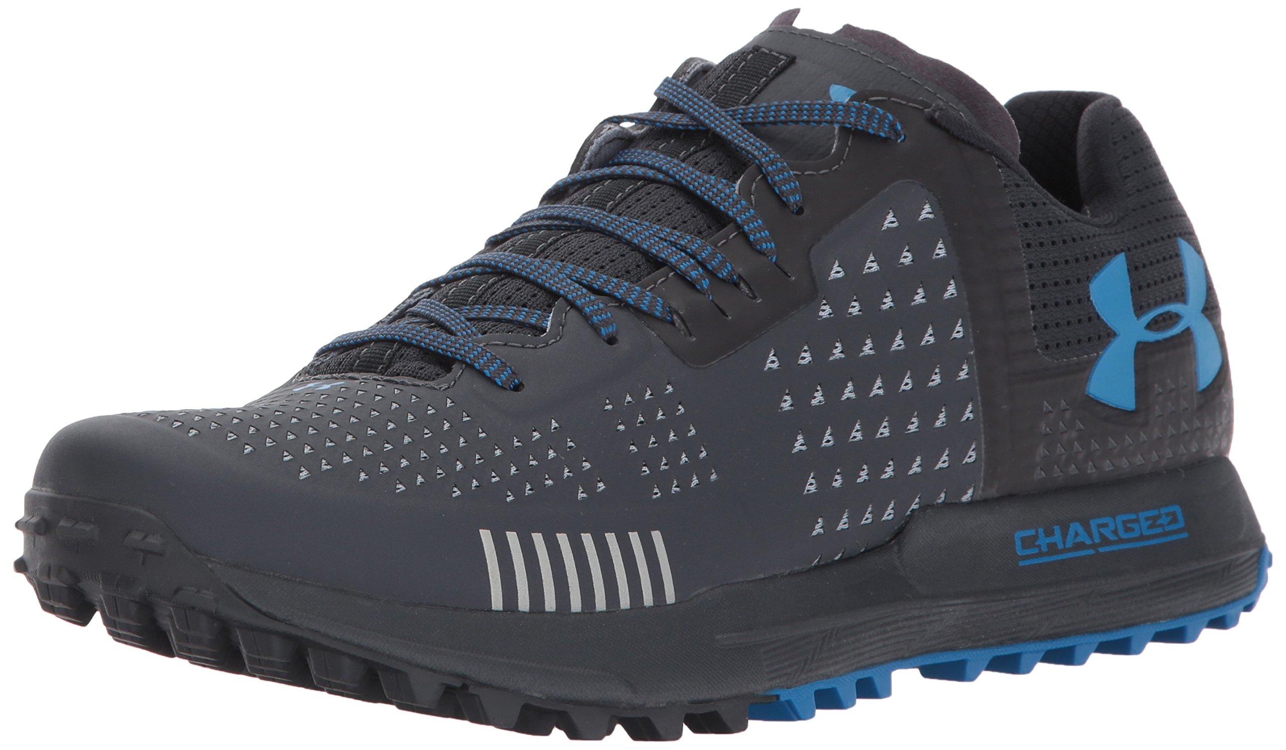 Under Armour Men's Horizon RTT Running Shoe, Anthracite (016)/Anthracite, 8