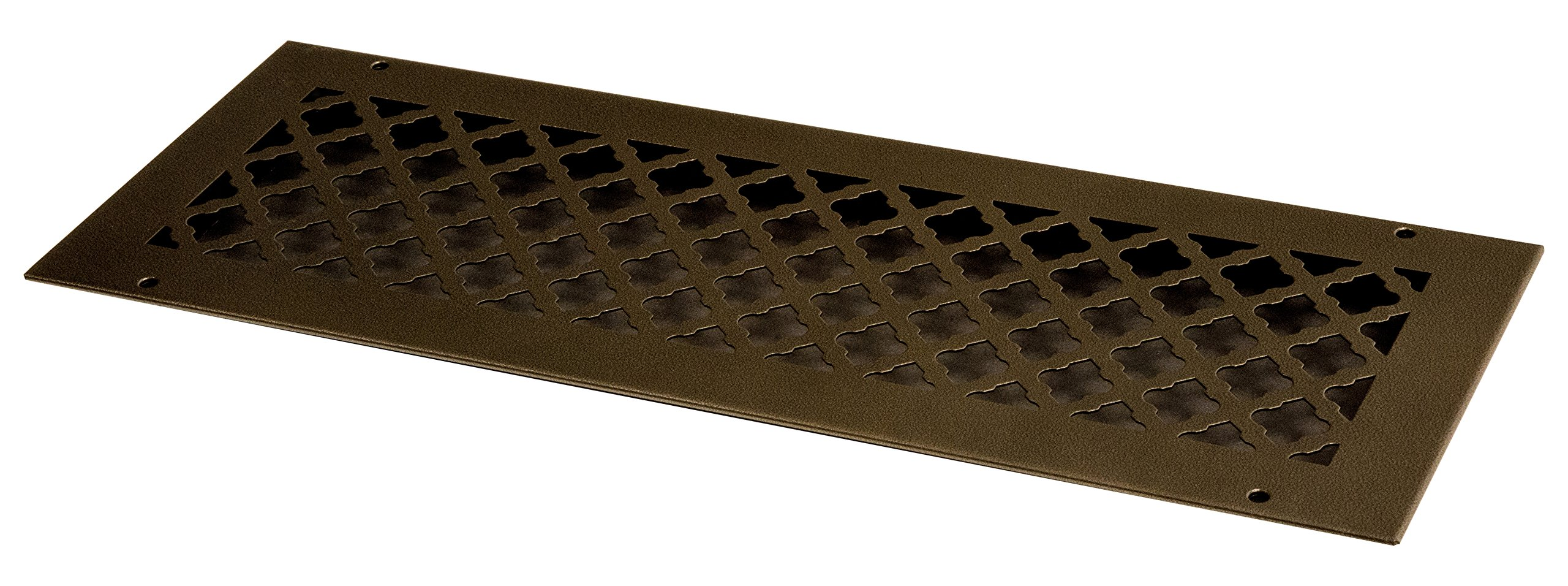 SteelCrest BTU20X6RORBH Bronze Series Designer Wall/Ceiling Vent Cover, with mounting Screws Oil Rubbed