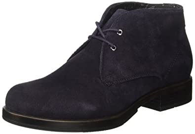 Sally Suede, Desert Boots Femme, Bleu (Dark Blue Dkbl), 39 EUU.S.Polo Association