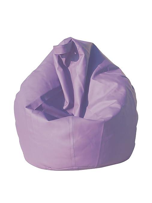 130 opinioni per 13Casa- Poltrona sacco dea in ecopelle lilla. Dim. 70x110 cm