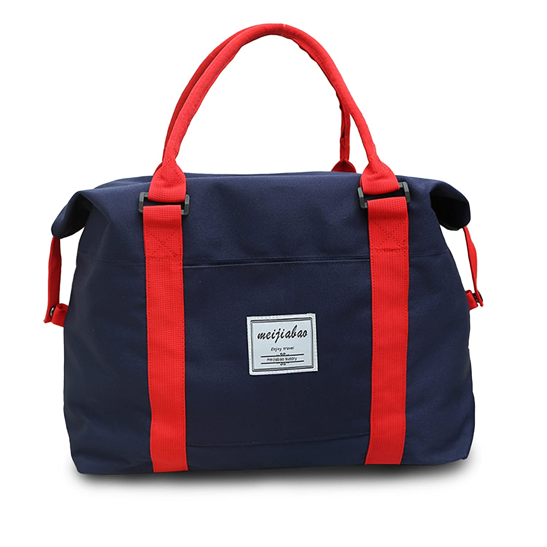 f37428aea01f Iztor Oxford Nylon Large Shoulder Hand Bag Tote Bag-Blue: Amazon.ca ...