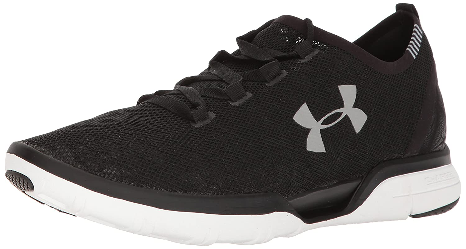 Under Armour Charged Coolswitch Run Hombre Zapatillas Negro 42.5 EU|Black-white-white (1285666-001)