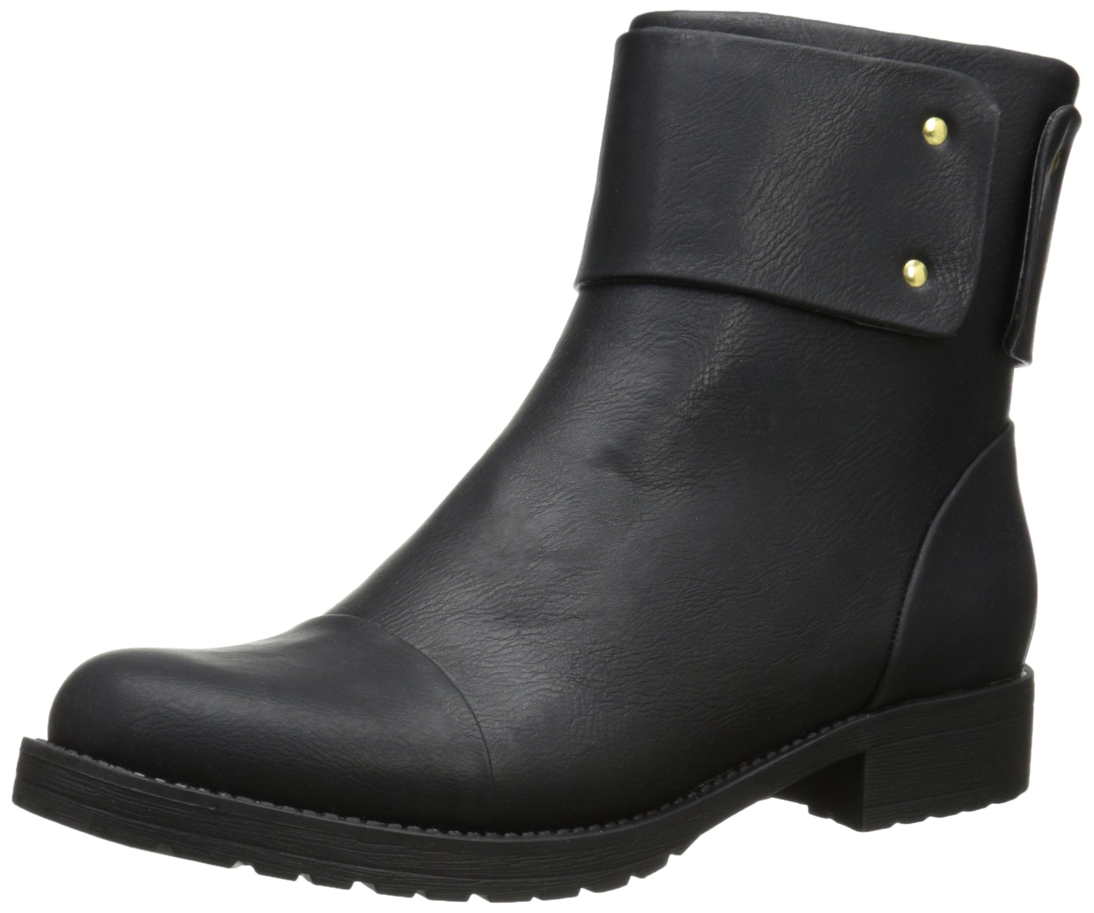 Penny Loves Kenny Women's Deron Chelsea Boot, Black, 6.5 M US