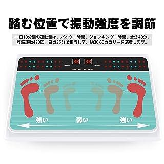 VLOXO 振動マシン フィットネスマシン 3d振動マシン ぶるぶるマシン 振動調節99段階 シェイカー式 静音 産後 ダイエット 音楽プレイヤー機能付 静音