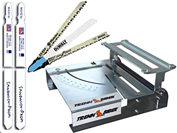 Sierra de calar mesa separador de franela 012P + Metabo Bosch ...