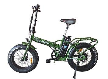Alta calidad RSM eléctrico fatbike bicicleta plegable mobilist FUN Bike Pedelec Color Camuflaje