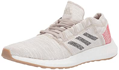 f2bb8f61b9137 adidas Men's Pureboost Go, Clear Brown/Carbon/Active red, 7 M US