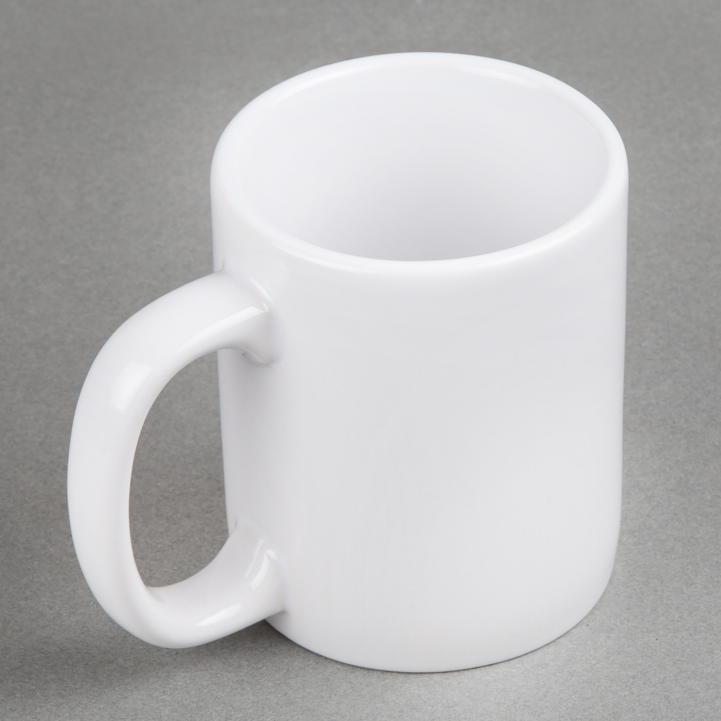 Creative Home 85355 Set of 6 Piece, 12 Oz Ceramic Coffee Mug Tea Cup, 3-1/4'' D x 4'' H, White by Creative Home (Image #4)
