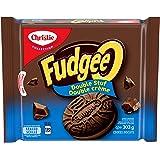 Fudgee-O Double Stuf Chocolate Cookies, 303g