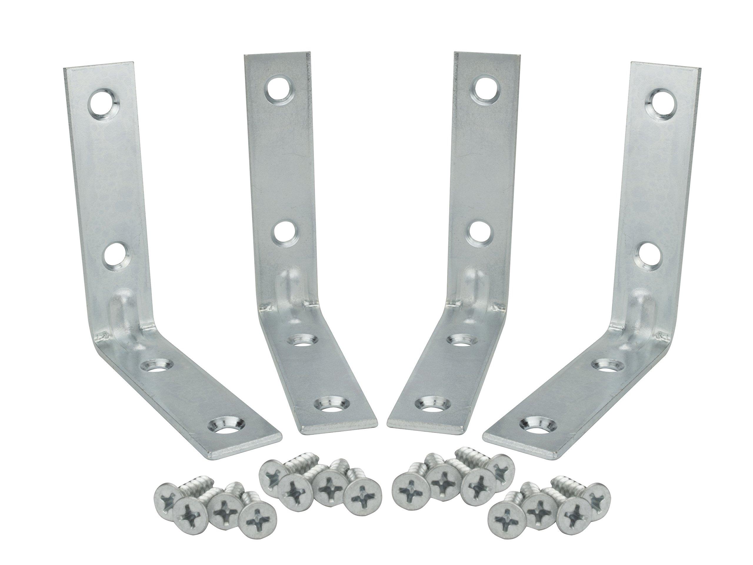 Specialty Hardware Corner Brace 3 inch Zinc Plated 120pcs