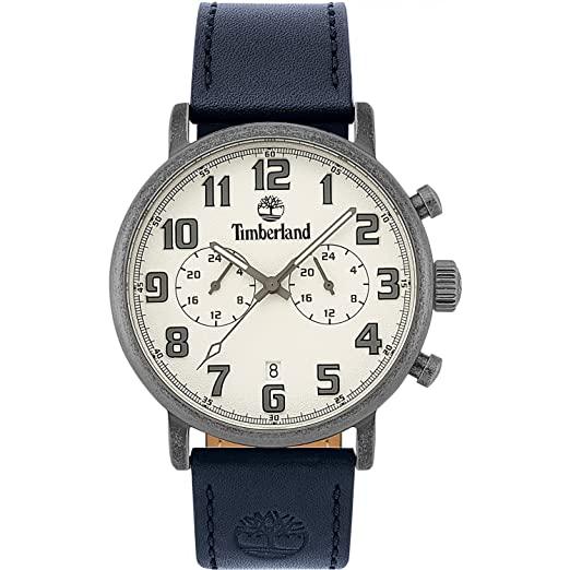 Timberland Mens Chronograph Quartz Watch with Leather Strap TBL.15405JSQS 04   Amazon.co.uk  Watches 62109b07137