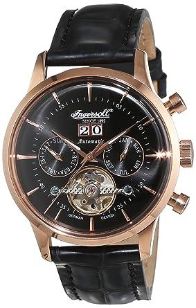 ingersoll men s automatic watch kearny in1709rbk leather ingersoll men s automatic watch kearny in1709rbk leather strap