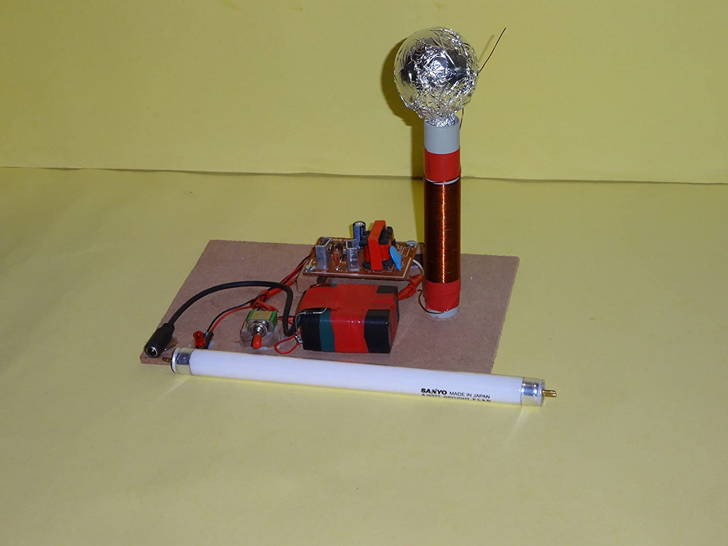Buy SANTOSH PROJECT MAKER Tesla Coil Online at Low Prices in India