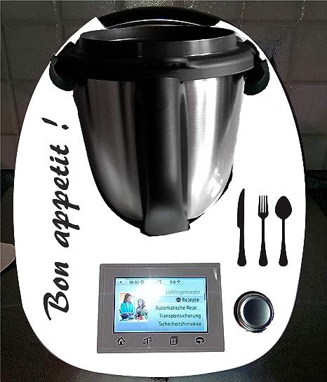 Pegatinas para Thermomix TM 5, TM 6, TM 31 Bon Appetit.: Amazon.es: Hogar