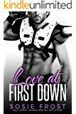 Love At First Down: A Secret Baby Romance (Touchdowns and Tiaras Book 2)