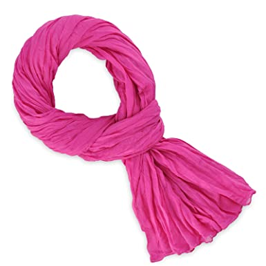 Chèche coton rose fuchsia uni  Amazon.fr  Vêtements et accessoires 04a0272f410