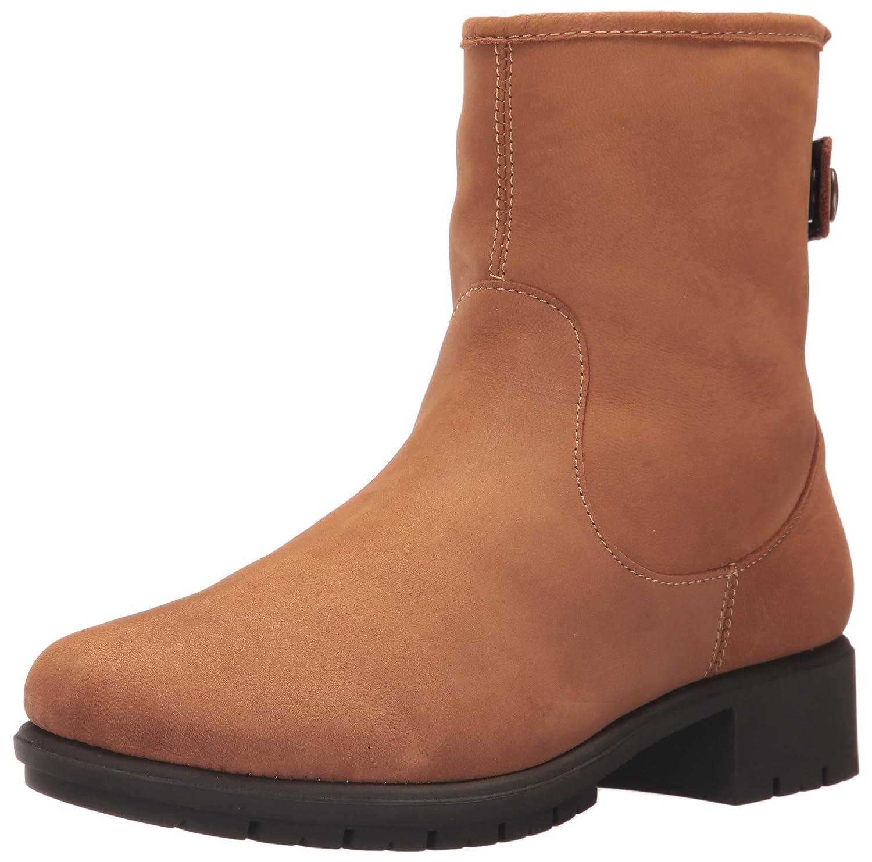Aerosoles Women's Just Kidding Ankle Boot Dark Tan Nubuck