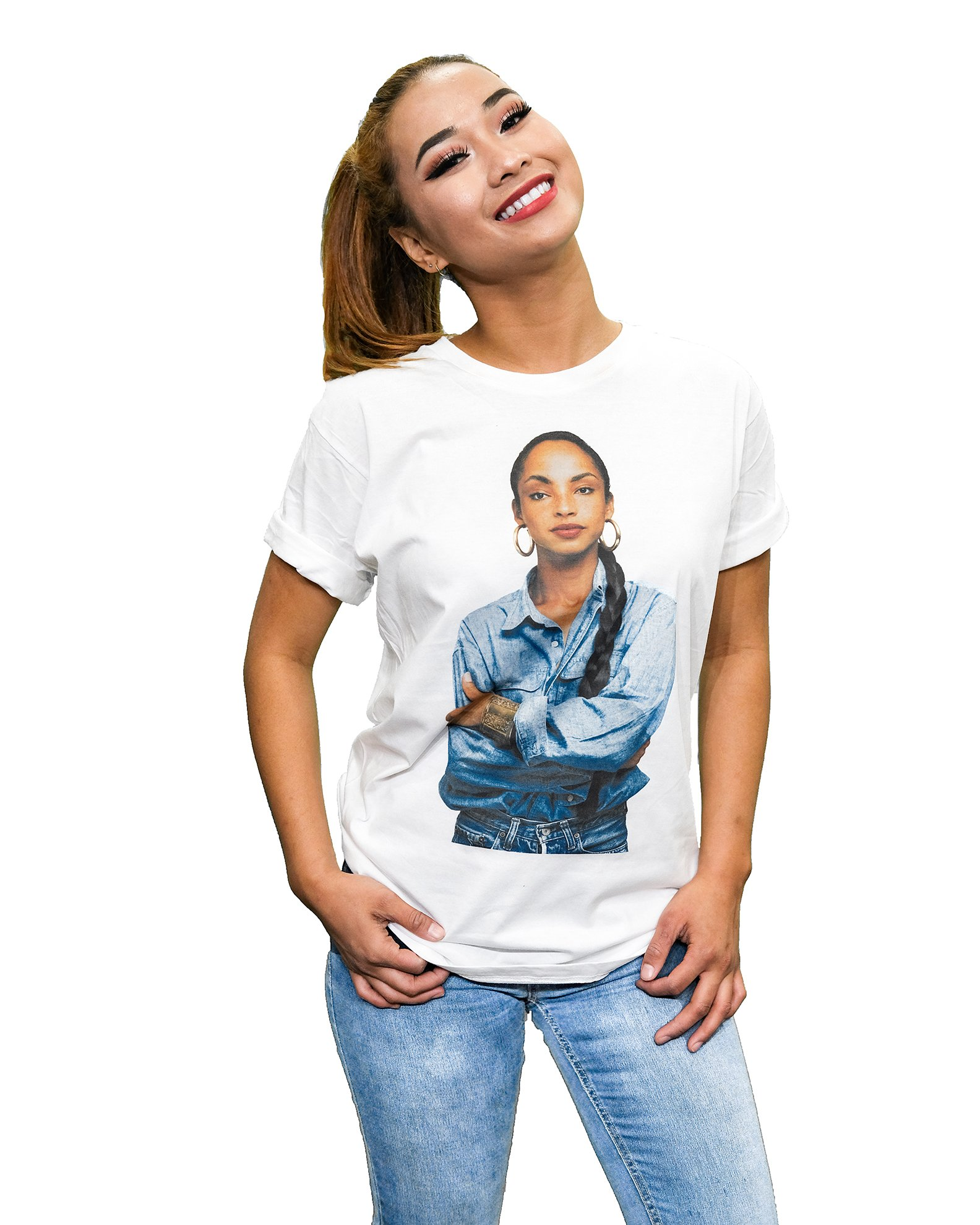 Novo Los Angeles Sade t-Shirt (White_T_Shirt, XLarge)