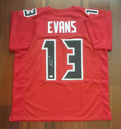 buy popular 77af6 94a2b Autographed NFL Jerseys JSA Certified Autographed Mike Evans ...