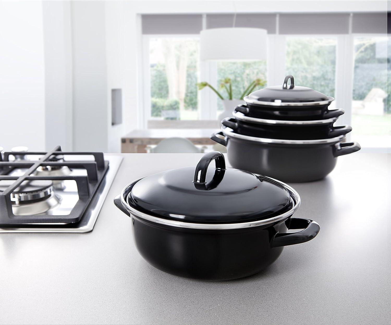 BK-Cookware B1208.522 22 cm 2 Litre Fortalit Dutch Oven BK Cookware