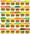 Play-Doh - Bulk Mega Pack - 36 x 85g Tubs of Dough - Creative Kids Toys - Ages 2+
