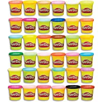 Play-Doh - 36 Pack Case of Colors - 36 x 85g tubs - Assorted colours of Non-Toxic PlayDoh Dough - Modeling Compound…