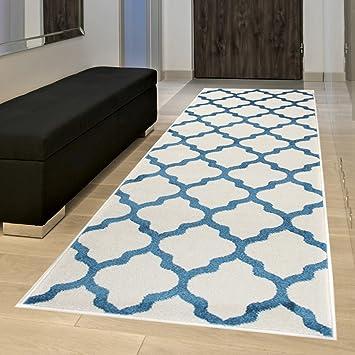 Läufer 80x300 amazon de läufer brücke flur teppich muster marokkanisch modern