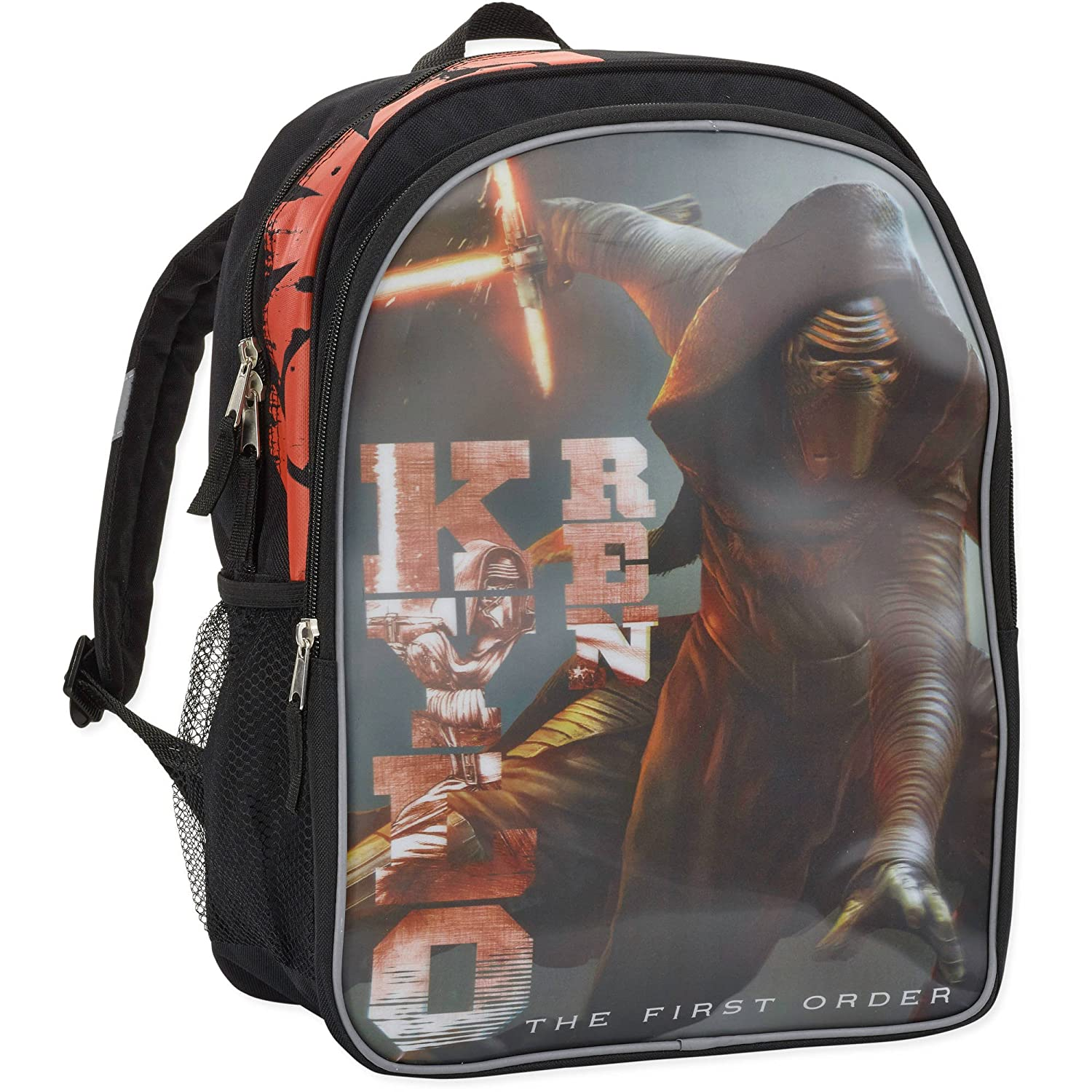 new Star Wars Kylo Ren The First Order 16 inch Backpack with Side Mesh Pockets