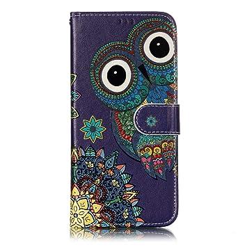 MoreChioce Funda Xiaomi Redmi Note 5,Carcasa Xiaomi Redmi Note 5 PU,Funda PU 360 Grados Completa Cover Cuero PU Funda Flip Case,PU Animal Pattern ...