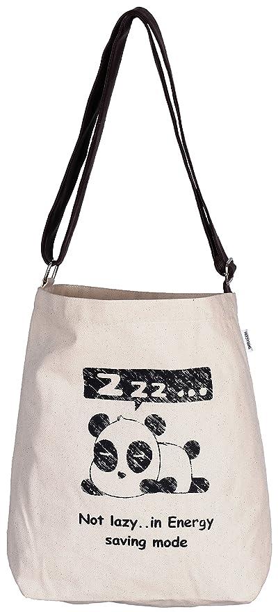 Amazon.com  BAO Canvas Adjustable Crossover Sling Tote Bag designed ... f6ea4f29fb6c0