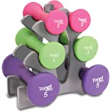 Tone Fitness 20 lb. Hourglass Dumbbell Set
