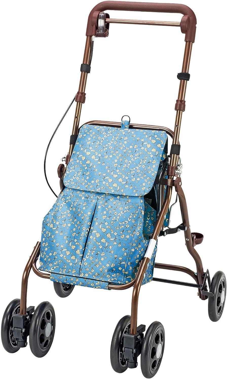 マキテック シルバーカー ウェルキャリーEX 小花ブルー YX-550KS   B00RFHXP80